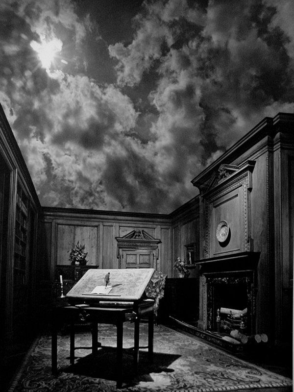 Born in Detroit on June 11, 1934, Jerry Uelsmann received his B.F.A. degree at the Rochester Institute of Technology in 1957 and his M.S. and M.F.A. at Indiana