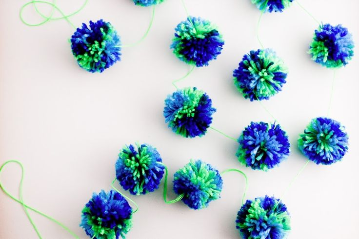 How To Make Woolly Pompoms in Bulk - Flax & Twine