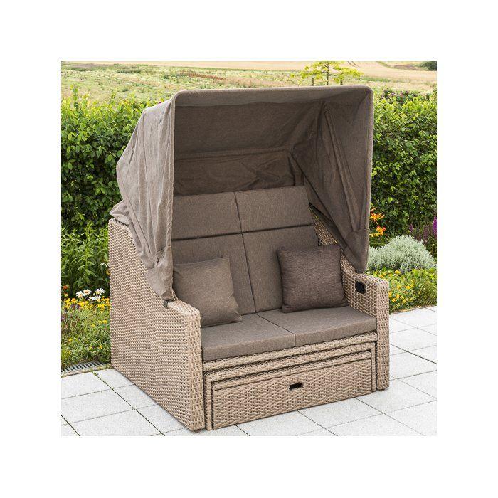 Garten Living Strandkorb Mit Polster Saffron Wayfair De Outdoor Garden Furniture Outdoor Bed Outdoor Chairs