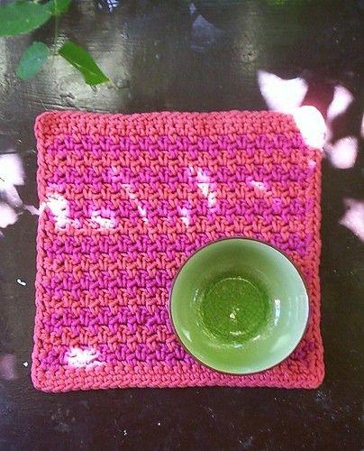Tovagliette uncinetto e maglia casa