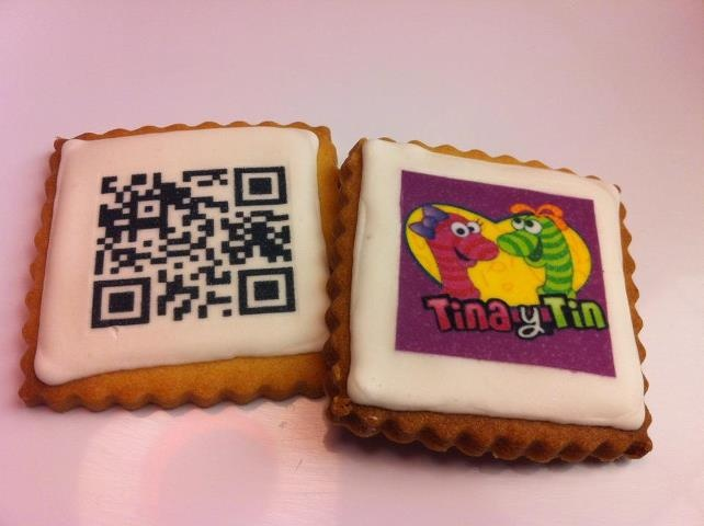 Las Galletas con música para que puedas escuchar una canción personalizada a través de la aplicación para móvil de Tina y Tin