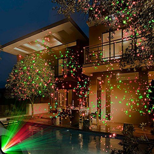 Remote controllable Laser Christmas Lights, laser Garden and decoration lights, LED Lights.