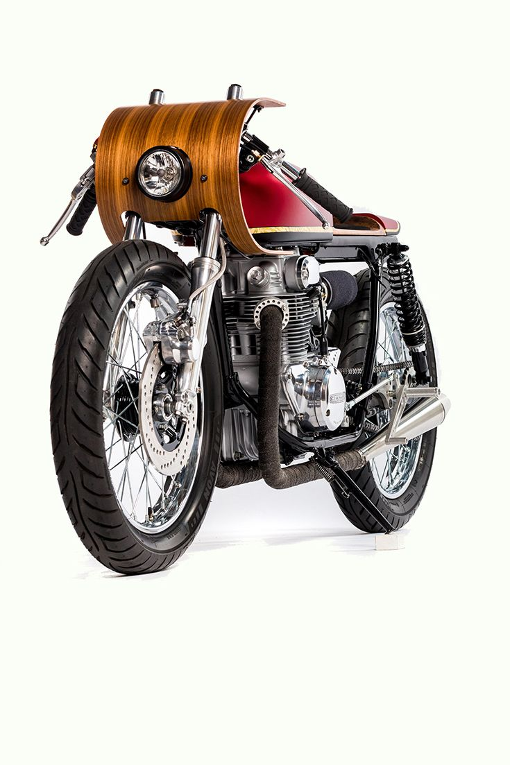Black diamond virago gloves - This Honda Cb350 Has Been Customized With Wood Bodywork