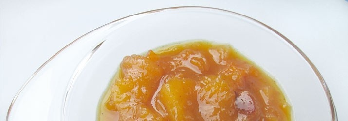 Chutney de mango con aceite de oliva virgen extra Manzanilla de Casas de Hualdo. #aceiteoliva