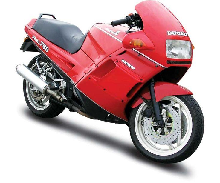 Tamburini's Dream Machine: Ducati Paso 750