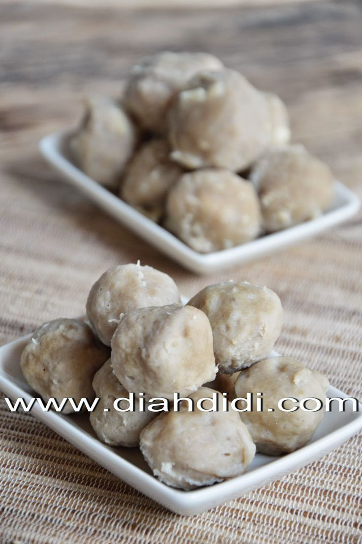 Diah Didi's Kitchen: Tips Membuat Bakso Daging