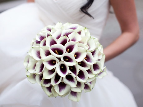 The bouquet This would be beautiful if you went with a silver dress