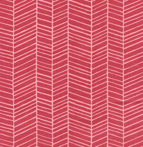 Herringbone in Berry, Modern Meadow, Joel Dewberry for Westminster Fabrics, Half Yard, 1/2 Yard. $5.50, via Etsy.