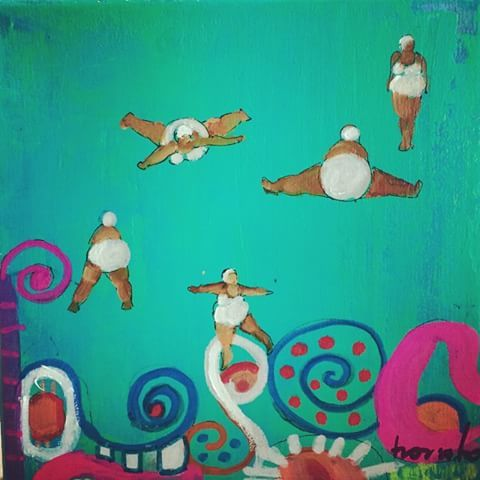 Óleo formato pequeño  #CristinaTrovatoArte  #estilopilar #arte #art - cristinatrovato_arte
