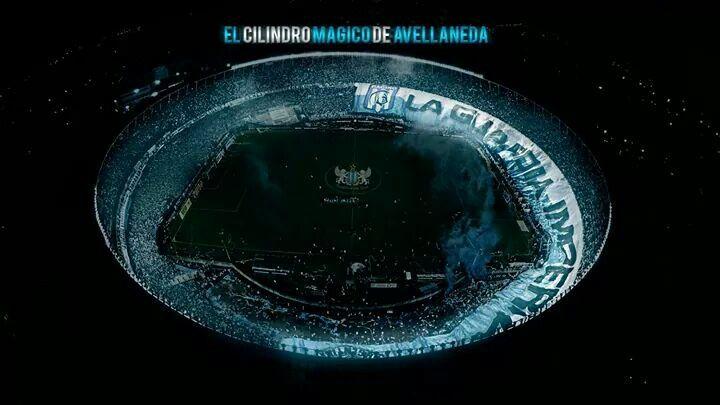 Racing Club Estadio Presidente Peron, El Cilindro Magico o El Coliceo de Avellaneda. Decile como quieras...