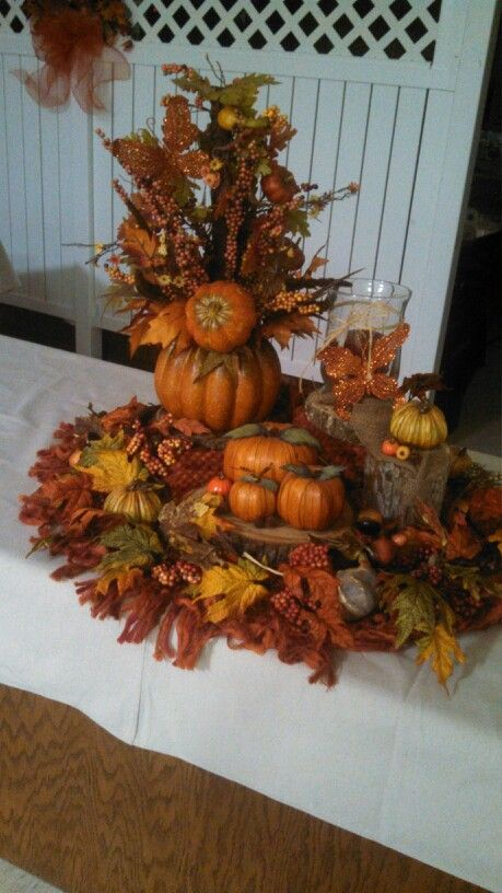 Decorating for fall at church | My stuff | Fall church ...