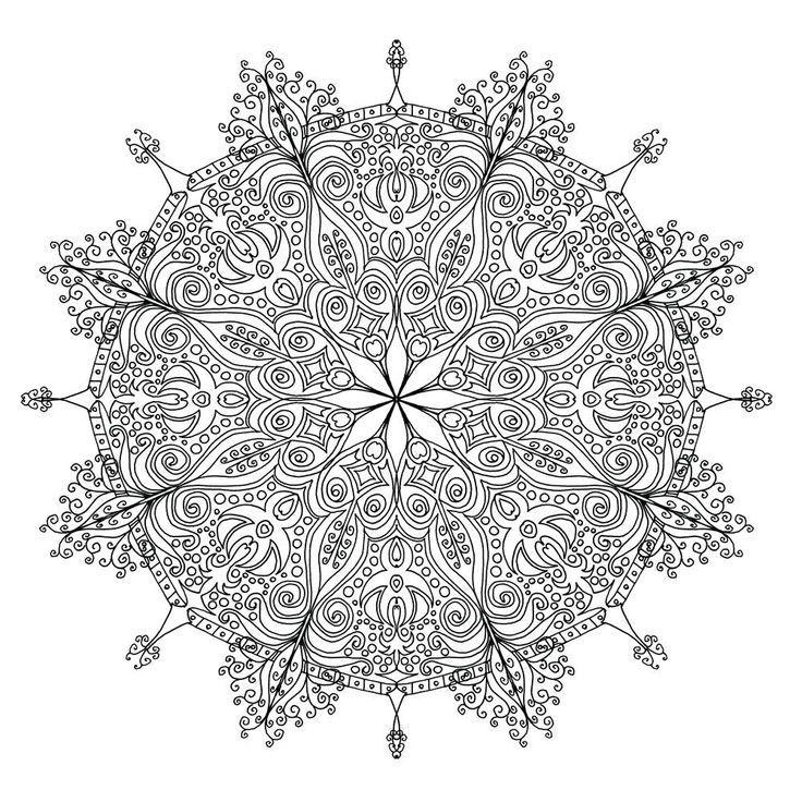 Handgefarbte Kritzeleien Zum Drucken Und Ausmalen Hochauflosende Downloads In Voller Grosse Zum Drucken Unter H Mandala Ausmalen Ausmalen Mandala Malvorlagen