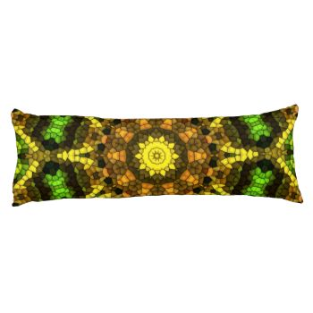 A colorful mosaic with bright color giving the pattern a nice trendy and decorative looks. You can also customize it to get a more personal look. #mosaic #kaleidoscope #colorful #trendy #bright #decorative #great-pattern #yellow #green #modern #line