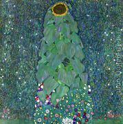 Sunflower  by Gustav Klimt