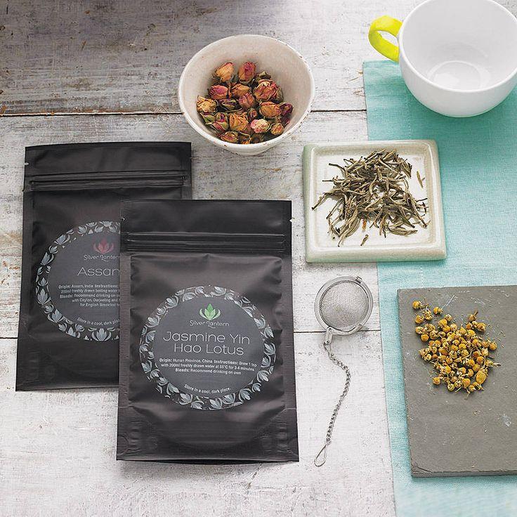 monthly tea subscription by silver lantern tea   notonthehighstreet.com