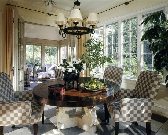 Traditional Dining Room Enclosed Patio Design Pictures Remodel Decor And Ideas