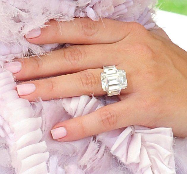 Kim Kardashian--celebrity Diamond Engagement Rings