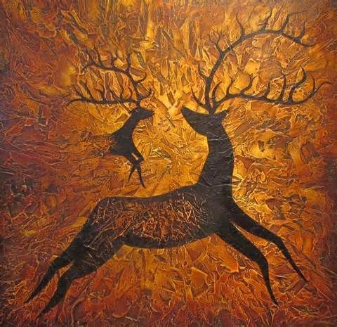 Cave paintings are absolutely fascinating. This one is just gorgeous. Humans have always had a streak of artistic talent.