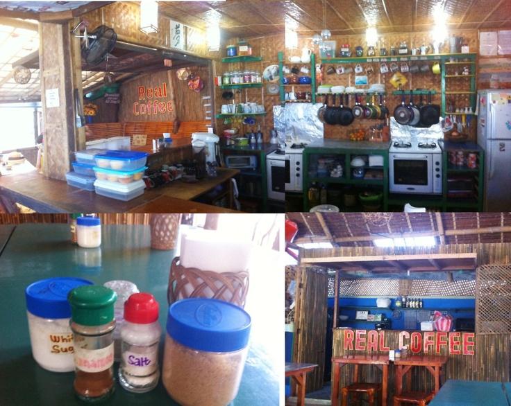 Cute place @real coffee, Boracay
