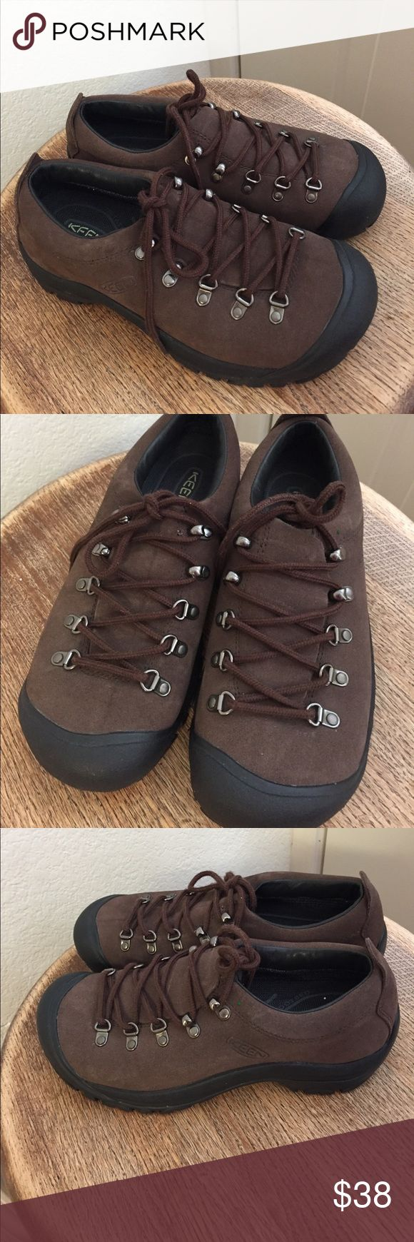 Keen  shoes laces size 8;5 Keen shoes like new color brown good quality Keen Shoes Athletic Shoes