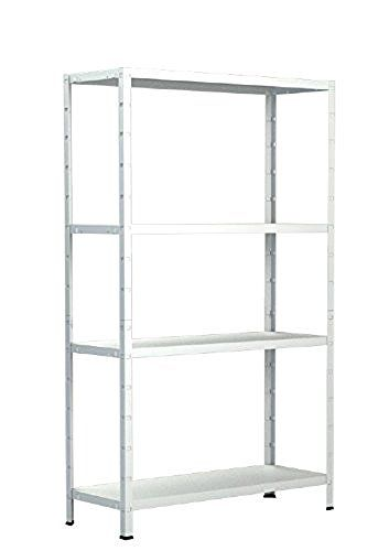 Schulte Regal Steckregal Metall, Traglast 200 kg, 4 Böden, 1 Stück, 137 x 75 cm, weiß, 4056397001669, http://www.amazon.de/dp/B01H1Y6LGE/ref=cm_sw_r_pi_awdl_x_NMm9xbQPHKHXG