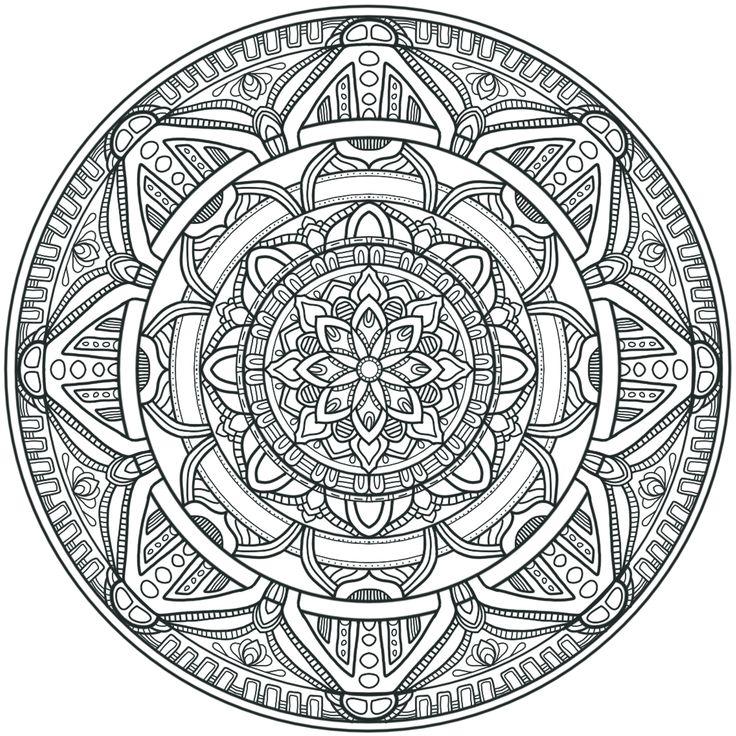 Krita Circles Mandala 3 by WelshPixie.deviantart.com on @DeviantArt
