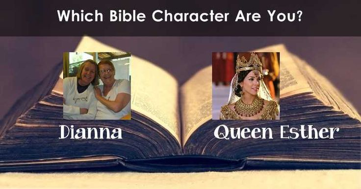 Which Bible Character are you?