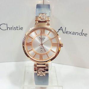 Jam Tangan Alexandre Christie AC 2516 Rosegold Grey