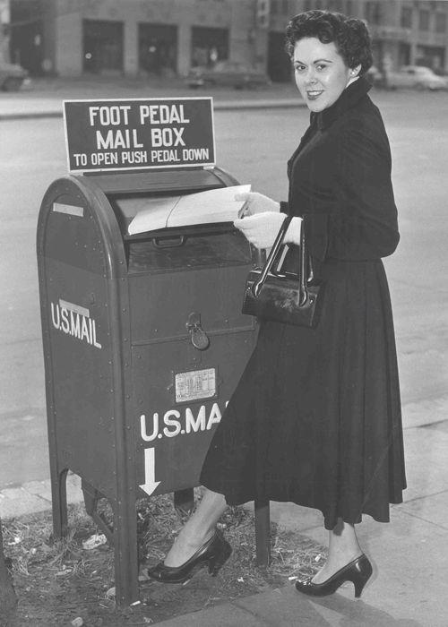 1950s mailbox