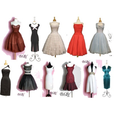 Old Hollywood Style Vintage Dresses