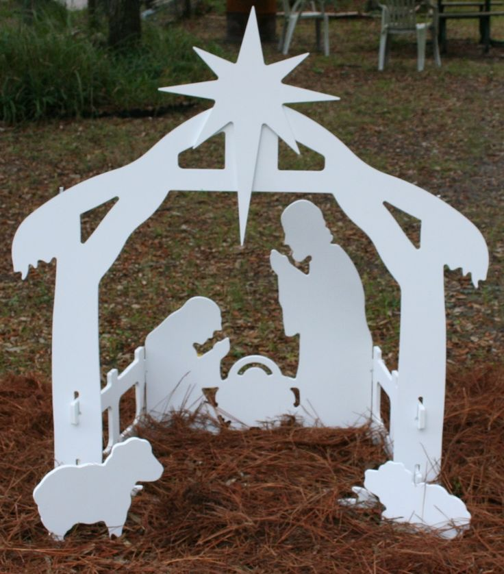 25 simple woodworking nativity patterns for Nativity cut out patterns wood