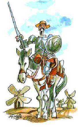 Antonio Mingote. Don Quijote de la Manca