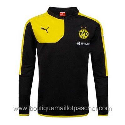 maillot de foot pas cher puma Training Borussia Dortmund 2016 Noir