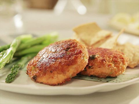 Healthy Salmon Cakes from CookingChannelTV.com