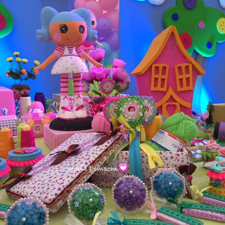 Lalaloopsy Birthday Party: 339 Best Images About Lalaloopsy Party Ideas On Pinterest
