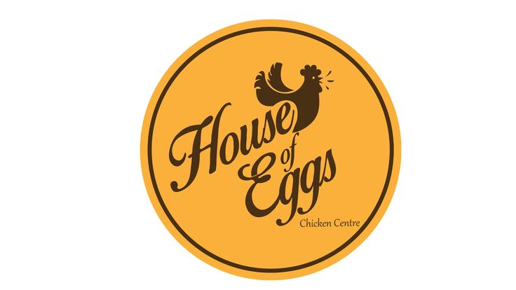 House of Eggs - Logo for a Chicken Centre