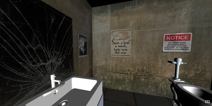 #scene #webVR #VR site First Person Shitter by danstrong.com  danstrong.com/webvr/first-person-shitter/ #AframeVR #infiverseVR #experience #VirtualReality #bathroom   Find more @ infiverse.com