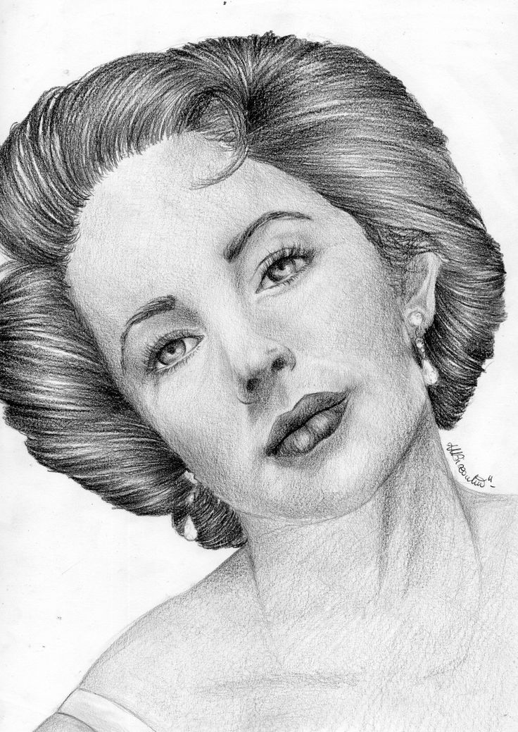 Elizabeth Taylor Drawing!