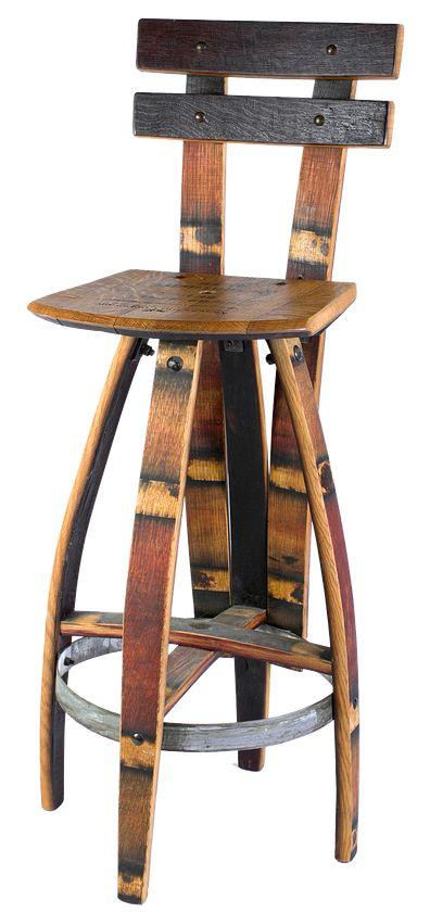 Vinoture | Reclaimed Wine Barrel Furniture | | Allison Chair
