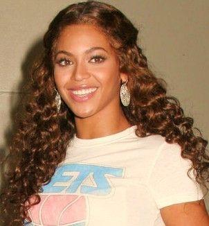 Beyonce Curly Hair 2014