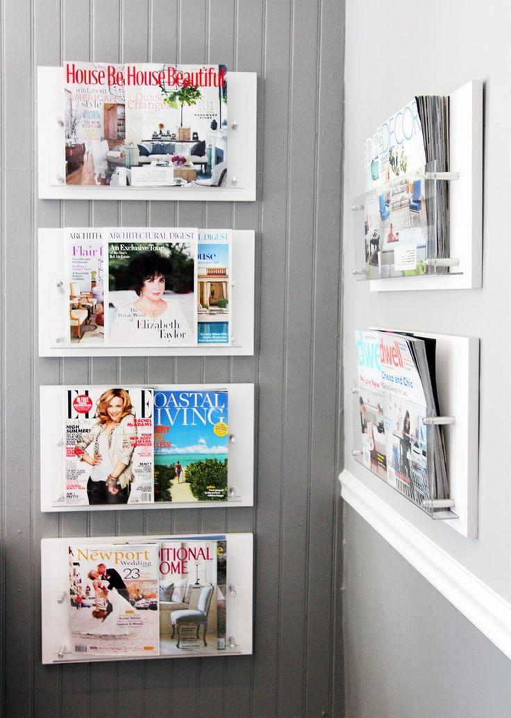 Обзор настенных держателей для журналов