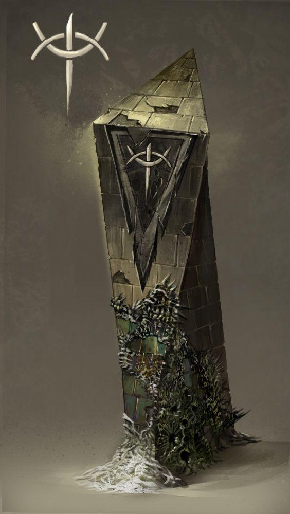 ArtStation - Flagstands, David Bolton