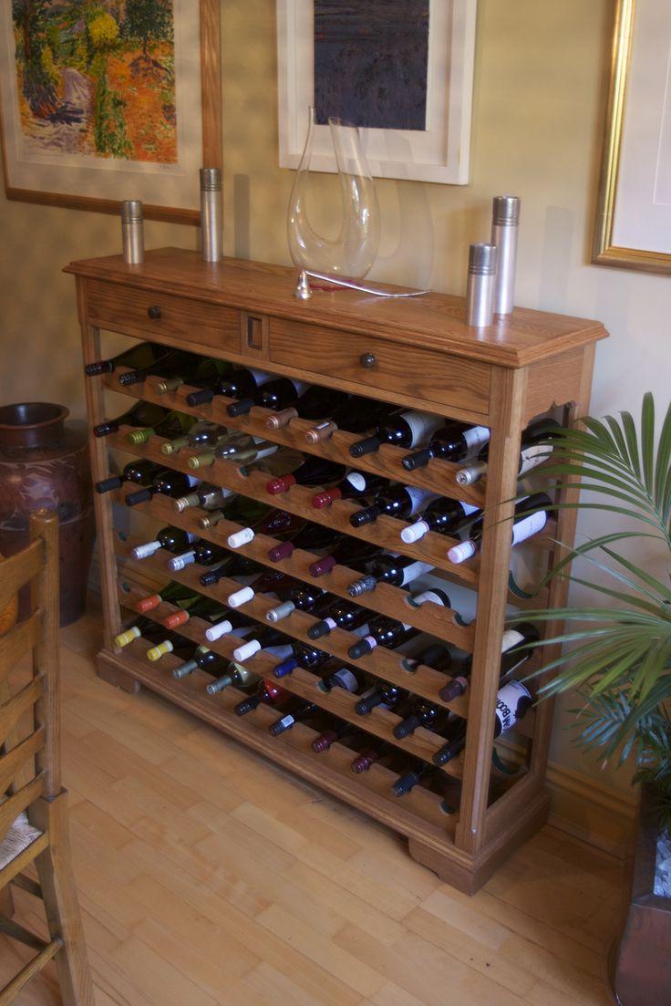 Luxury Oak Wine Cabinet Furniture