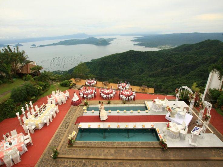 Tagaytay Wedding Venues Top 10 Wedding Destinations Tagaytay Wedding Wedding Venues Pool Wedding Decorations