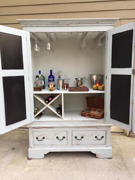 Best 25 Armoire bar ideas on Pinterest