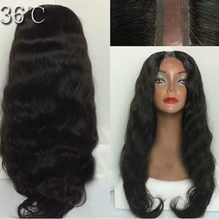 180% Density Brazilian Virgin Human Hair U Part Wig Natural Color Gluless U part Wigs With Middle/ Right/Left/ Part Baby Hair