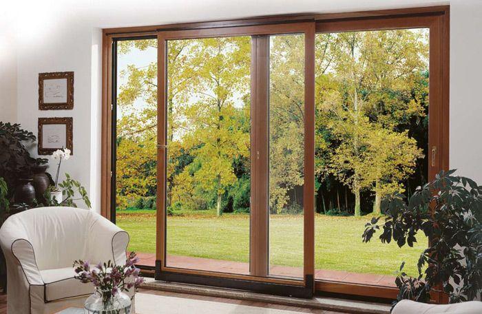 porte finestre in legno allumino Monza