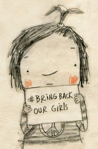 manon gauthier..bring back our girls..and boys..our mothers and fathers and sisters and brothers...bring them back.