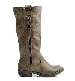 POHODLNÉ KOZAČKY , zimní kozačky, jednoduchý styl, ideální pro každodenní Pohodlné dámské kozačky na plochém podpatku. Zapínání na zip na vnitřní straně. Na vnější straně ozdobný zip. Celé zateplené textilním materiálem. Boty jsou pohodlné a stabilní https://cosmopolitus.eu/product-cze-41694-POHODLNE-KOZACKY-zimni-kozacky-jednoduchy-styl-idealni-pro-kazdodenni.html #zeny #ploche #boty #podzim #zima #modní #elegantní #modní #navrharství #levne #zeny