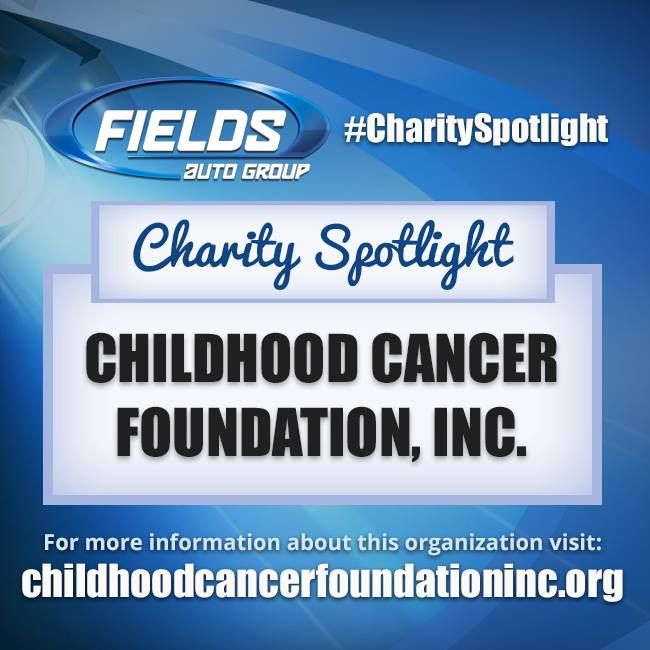 "This week's Fields #CharitySpotlight goes to Childhood Cancer Foundation Inc. who ""are committed to ensuring that no one has to face the diagnosis of childhood cancer alone"" and who provides ""financial assistance to childhood cancer families during the most difficult time of their lives."" Learn more about this wonderful cause at childhoodcancerfoundationinc.org  #FieldsAuto #charity #spotlight #ChildhoodCancerFoundation #FieldsBMW #BMW #Lakeland #Florida"